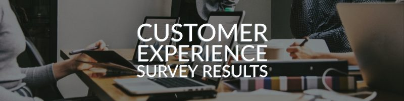 Customer Experience Management Survey – The Results